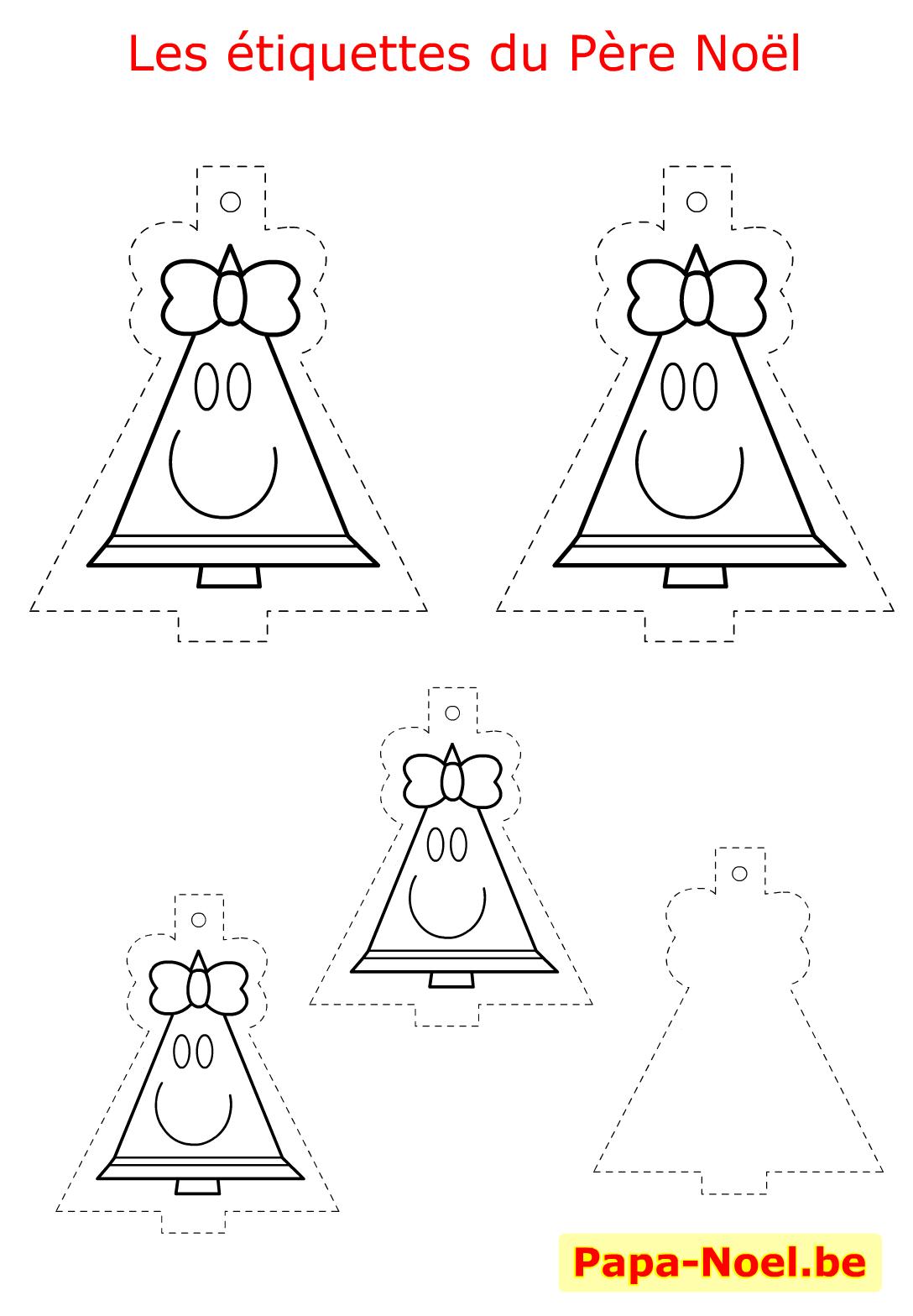 pin bricolage enfant noel etiquettes a imprimer gratuites