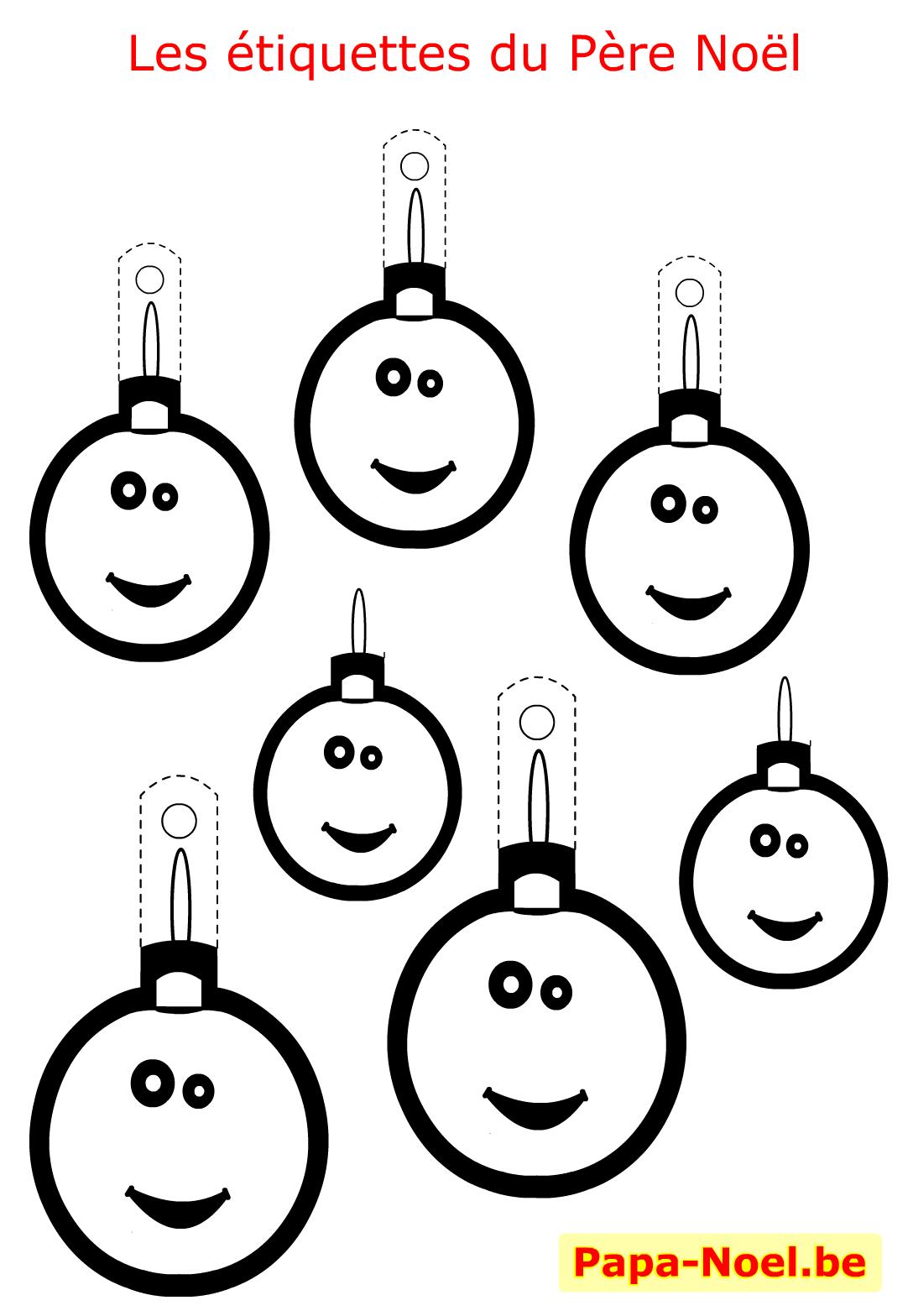 #CC5E00 Bricolage Enfant NOEL Etiquettes A Imprimer Gratuites Pour  5359 décorations de noel ce1 1088x1568 px @ aertt.com