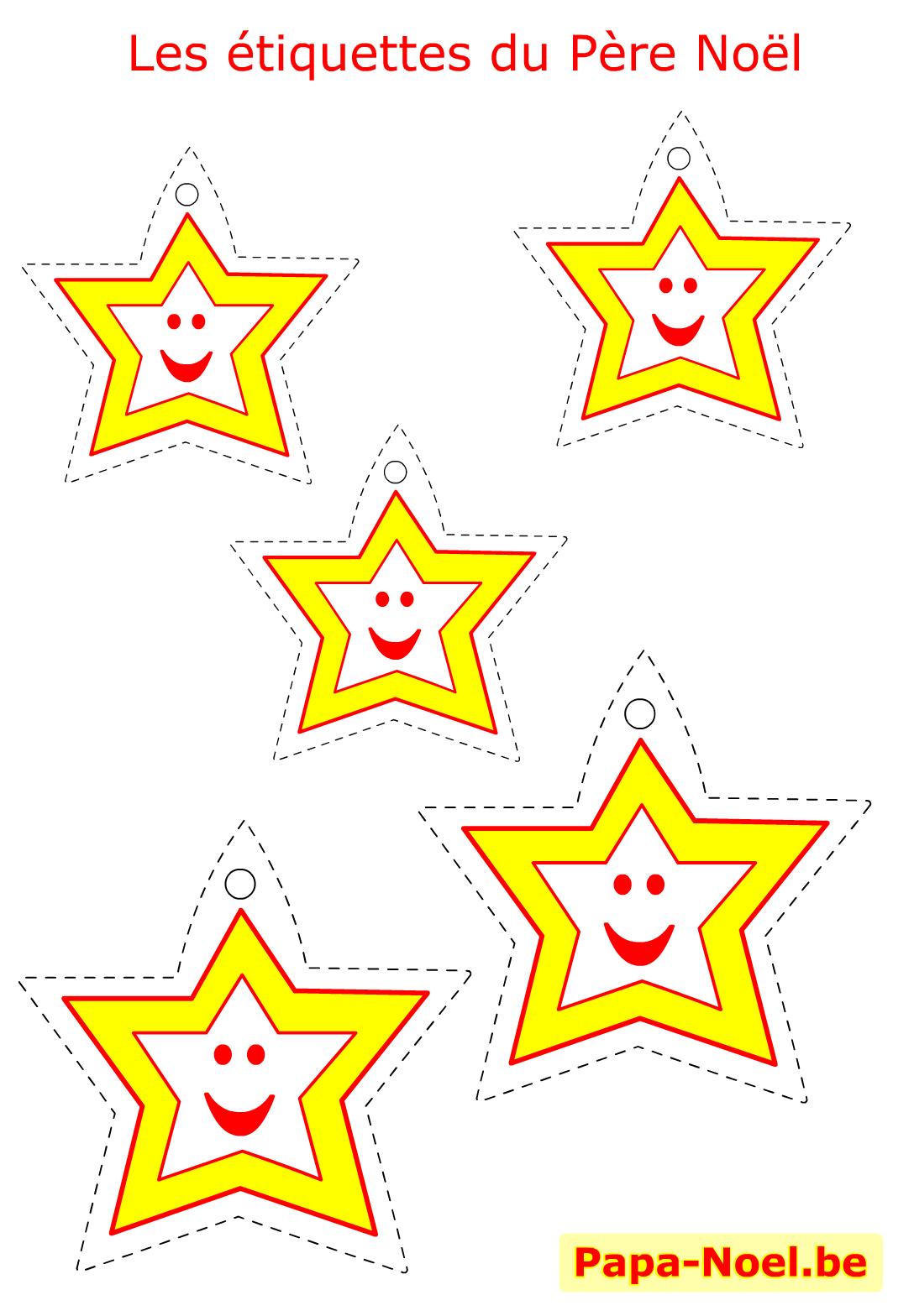 Beliebt Bricolage enfant NOEL etiquettes a imprimer gratuites pour cadeau  CY21