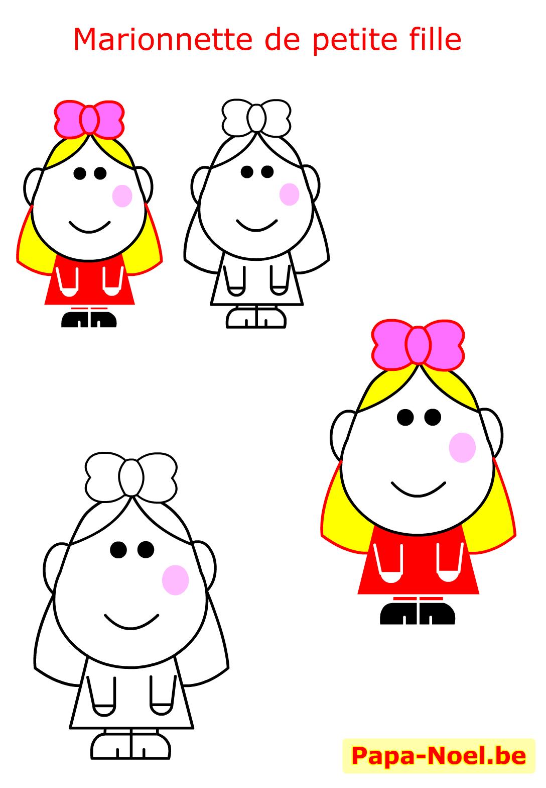 Bricolage noel enfant fabrication marionnette no l maternelle fille fabriquer bricolages marotte - Marionnettes a doigts a imprimer ...