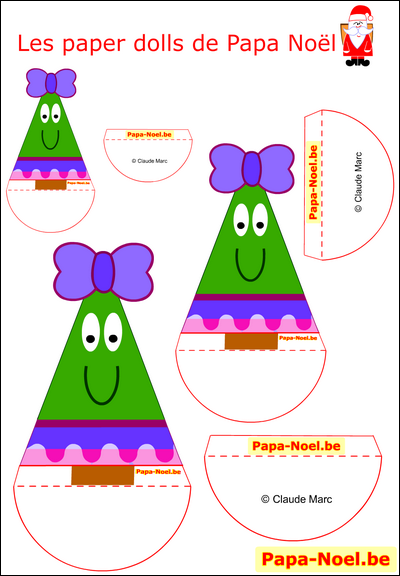 paper doll noel enfant a imprimer sapin de no l jouet en. Black Bedroom Furniture Sets. Home Design Ideas