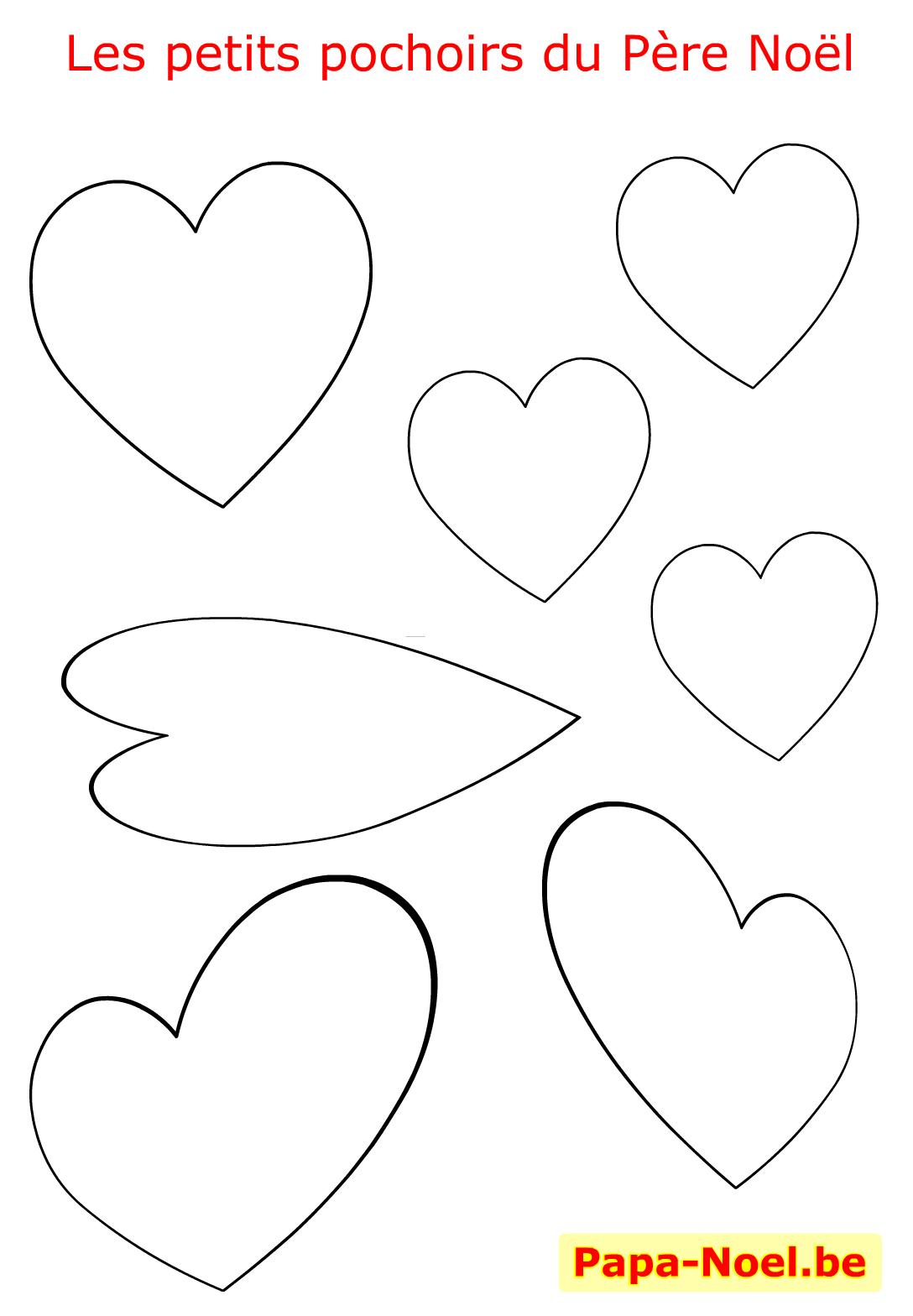 Pochoir De Noel Pochoirs à Imprimer Gratuit Dessin Coeur D