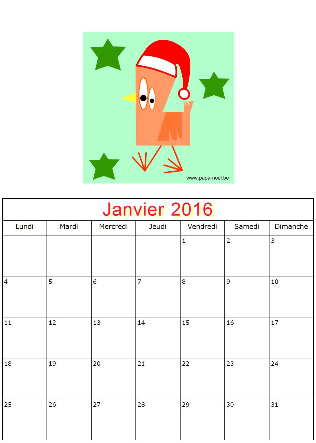 ... de janvier 2016 à imprimer maternelle gratuit dessins poule etoile