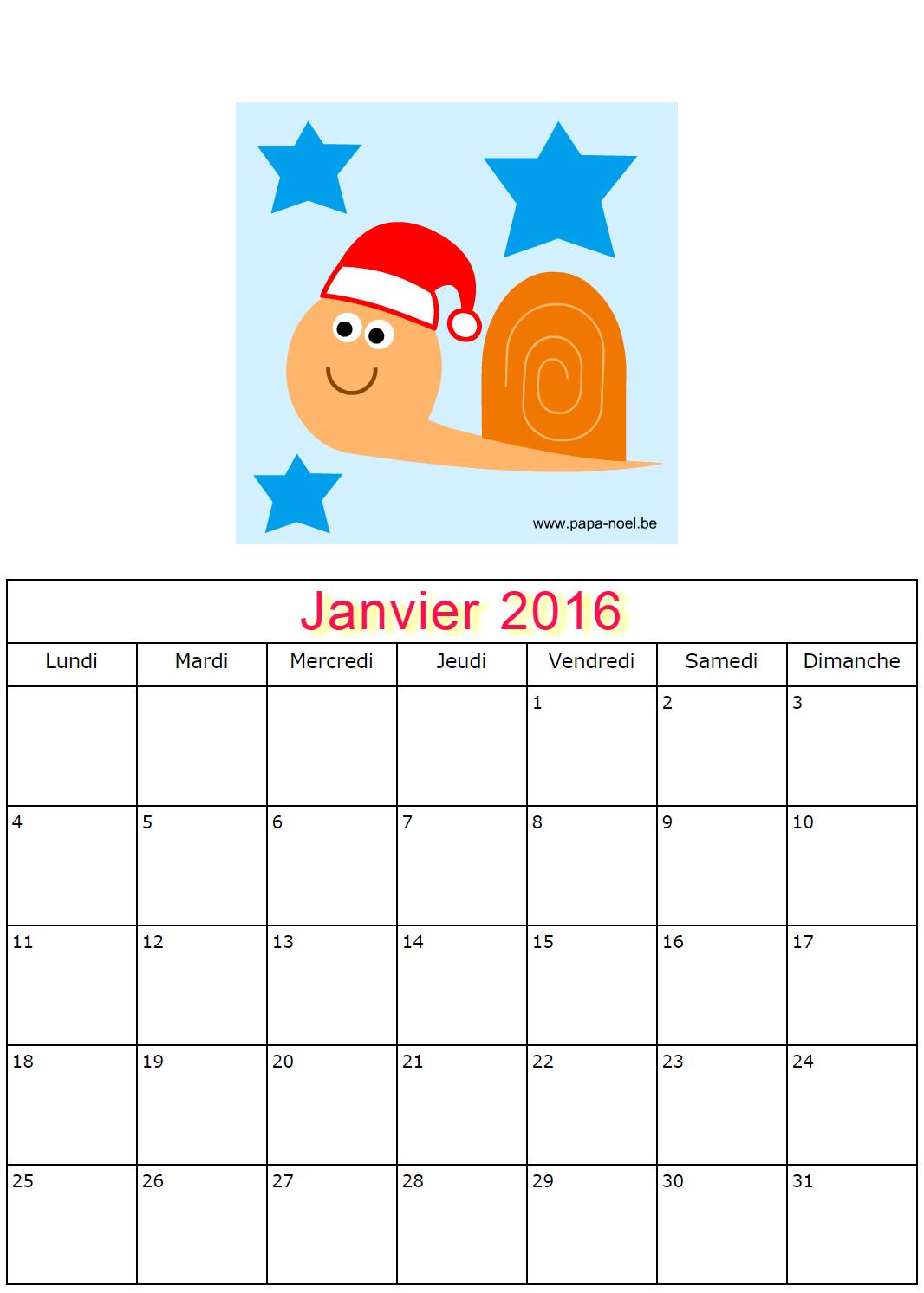 calendrier a imprimer en maternelle