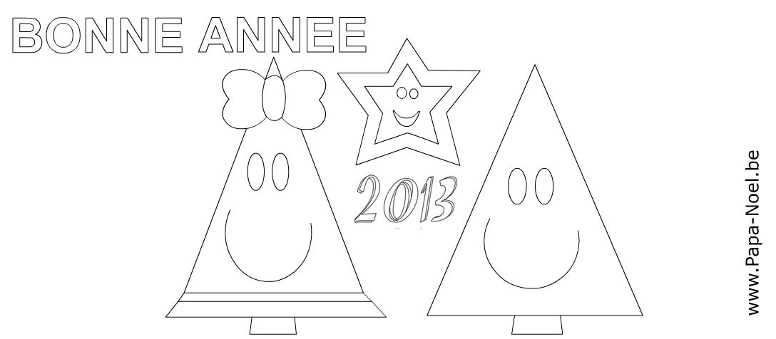 Imprimer une carte Bonne année 2013 faire cartes nouvel an