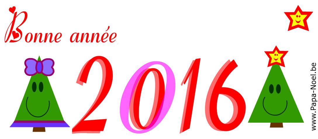 carte bonne annee 2016