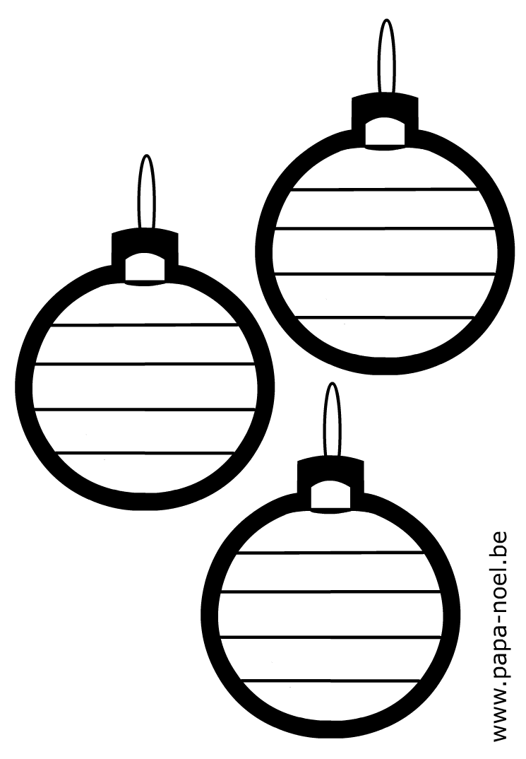 noel coloriage de boule de noel graphisme coloriage de. Black Bedroom Furniture Sets. Home Design Ideas