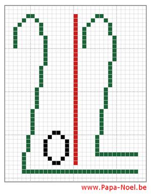 2012 grille de point de croix 2012 a imprimer carte noel - Grilles point de croix gratuites noel ...