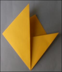 Etoile de noel bricolage decoration d coupage pliage etoile de no l en papier 5 branches - Faire une etoile en papier ...