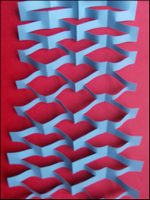 Pour enfants 2017 fabriquer une guirlande de no l en papier - Comment fabriquer une guirlande de noel ...