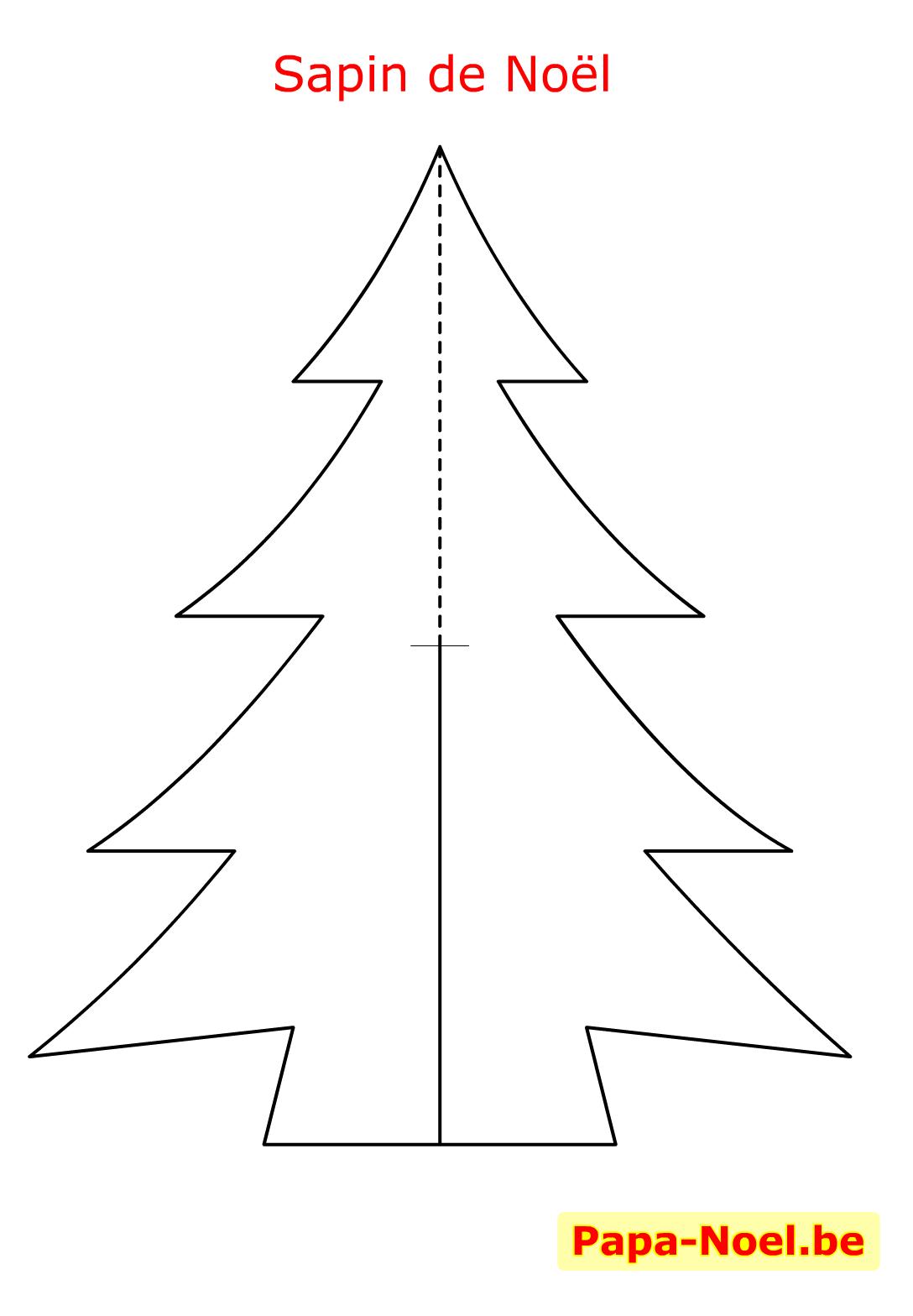 Imprimer carte de Noël à poser bricolage maternelle décoration