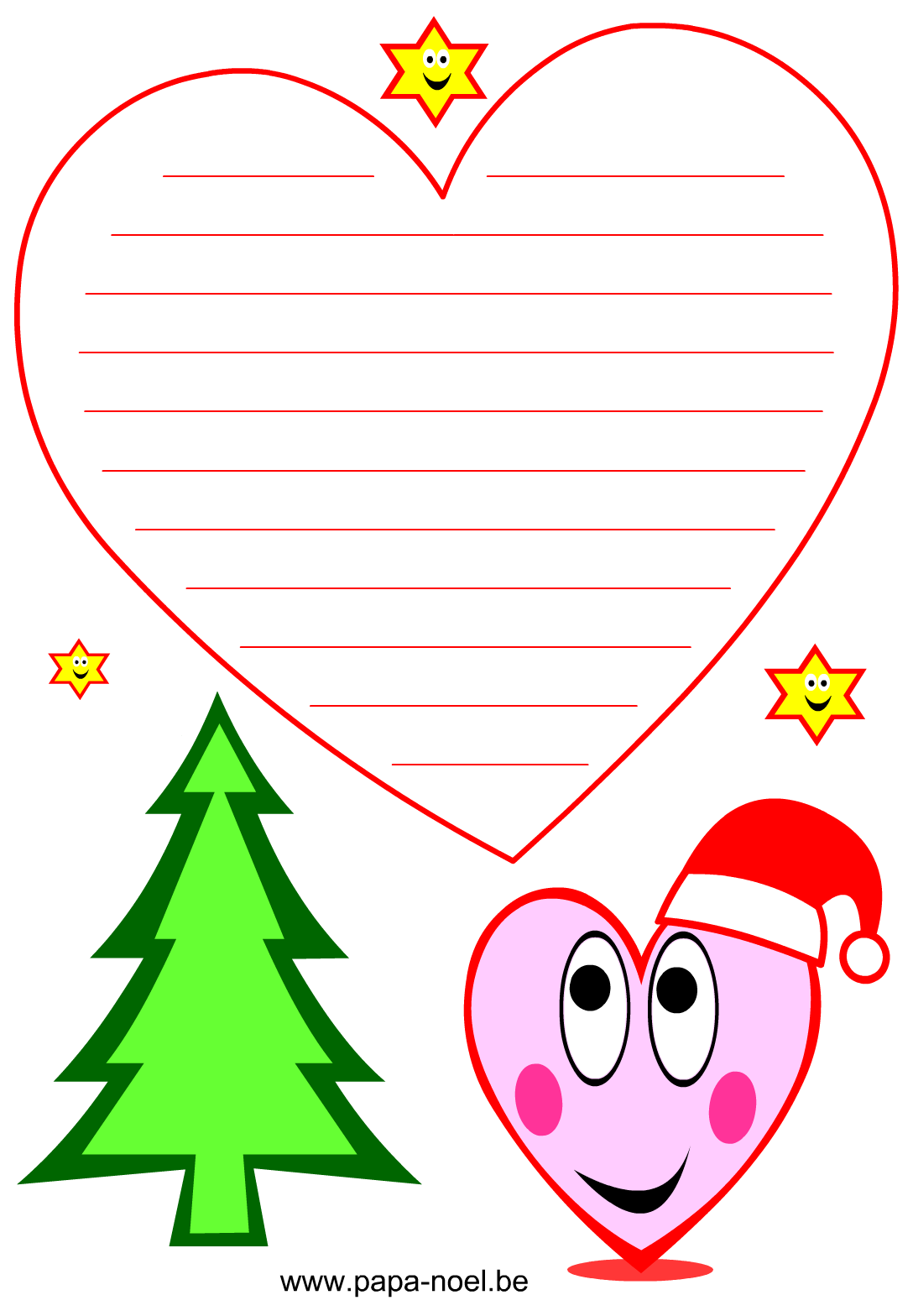 Papier A Lettre Noel à Imprimer Noël Gratuit Lettres Dessin