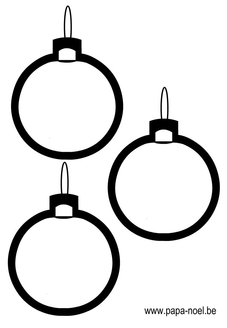 Noel Coloriage De Boule De Noel Coloriage De Boules De Noel