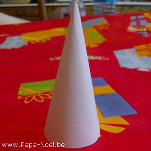 Cône En Papier A Imprimer Fabrication Cones Decoration De Noel Deco